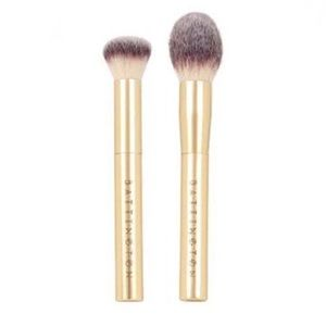 🆕Battington Beauty Powder & Contour Brush Set